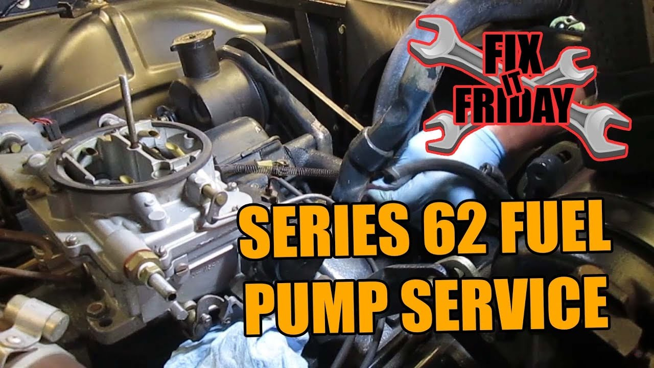 1960    Cadillac    Series 62 Fuel Pump Replacement Hard Start