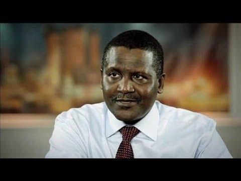 Billionaire Aliko Dangote on his Business and #AfricaRising
