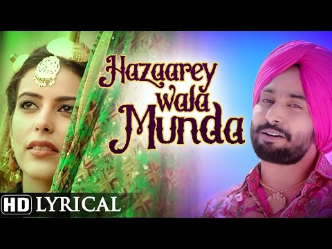 Hazaarey Wala Munda | Official Lyrical Video | Satinder Sartaaj | New Punjabi Songs 2016