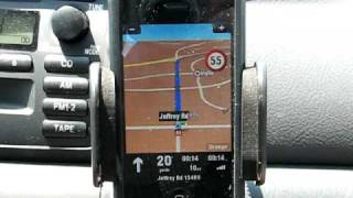 Part 1: iGPS360 and Sygic NAM GPS navigation software for iPhone/iPod Touch