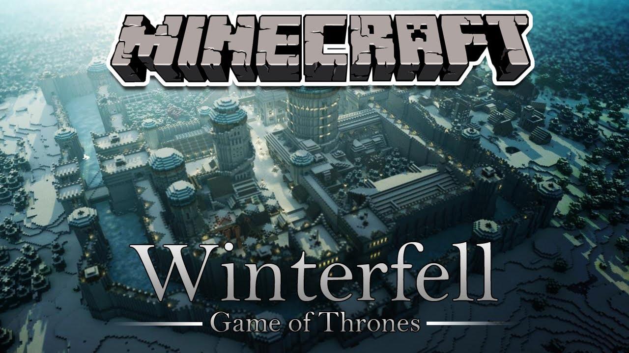 Minecraft Mapas Winterfell Game Of Thrones Youtube