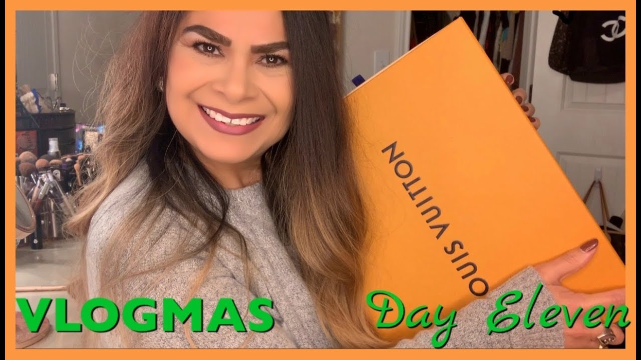 595ca9176066 VLOGMAS- DAY ELEVEN   CHRISTMAS CAME EARLY   LOUIS VUITTON VICTOIRE - Noir    CHRISTMAS 2018
