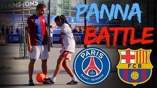 #PannaBattle: PSG vs Barcelona - Nawel Freestyle & Karim et son Ballon