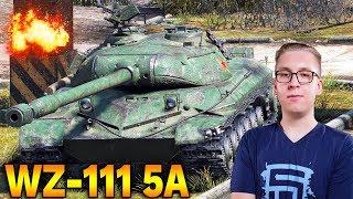 PRZESADZONY CZOŁG? - WZ-111 5A - World of Tanks