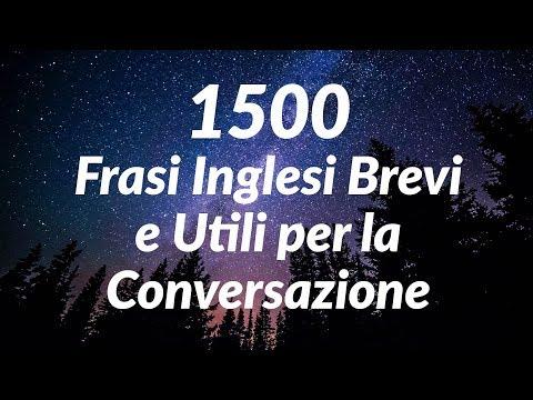 1500 Frasi Inglesi Brevi E Utili Per La Conversazione For Italian
