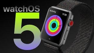 watchOS 5 WISH LIST