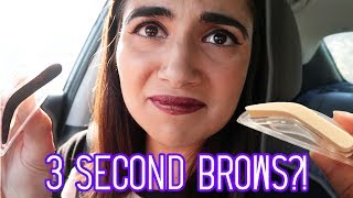 Testing 3 Second Eyebrow Stamps