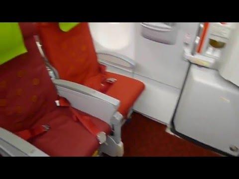 Hong Kong Airlines A330 Airbus (HX304)  Hong Kong - Beijing Economy Class