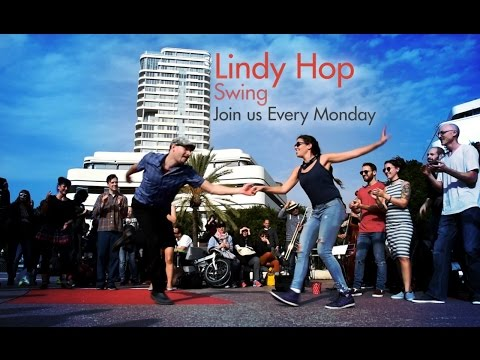 Lindy Hop - Swing Dance Lessons at Dance Tel Aviv Studio every Monday