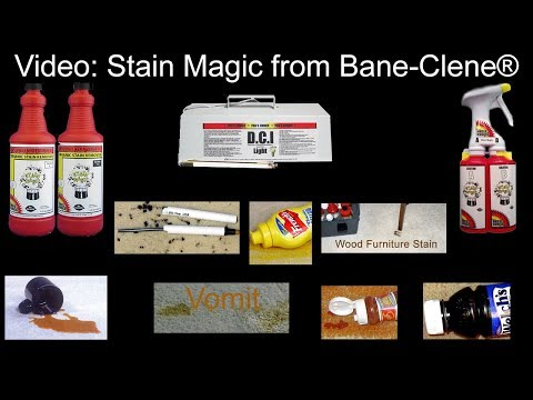 Stain Magic To Remove Organic Based Stains Like Coffee, Wine, Juice From Carpet