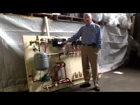 Radiant Heat With Wood Boiler Youtube