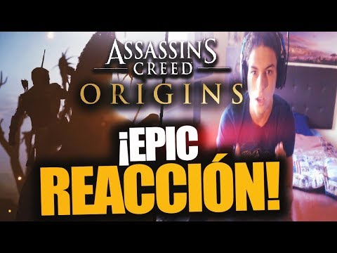 ¡REACCIÓN BRUTAL AL TRAILER DE ASSASSIN'S CREED ORIGINS! - RAFITI