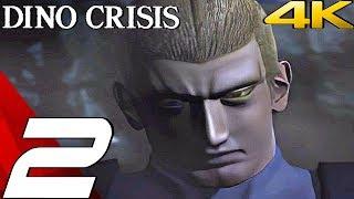 DINO CRISIS HD - Gameplay Walkthrough Part 2 - Power Room & Crane Puzzle [4K 60FPS]