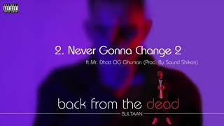 SULTAAN - Never Gonna Change 2 (Official Audio) | Feat. Mr. Dhatt | OG Ghuman | Back From the Dead