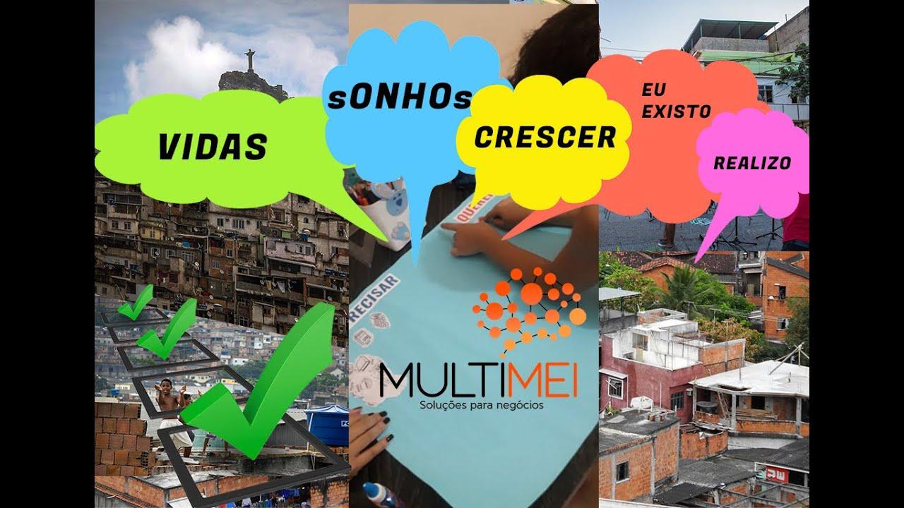 Mudando a vida na favela da Maré