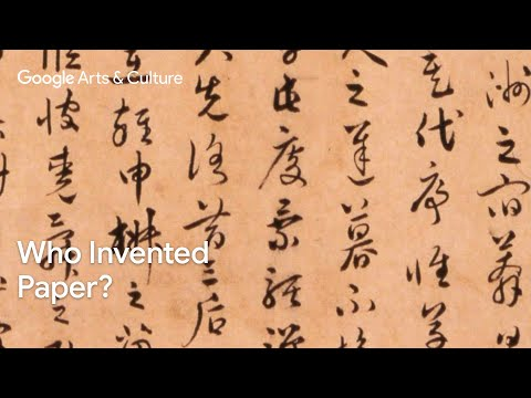 Who invented paper? The strange and ancient story unfolds