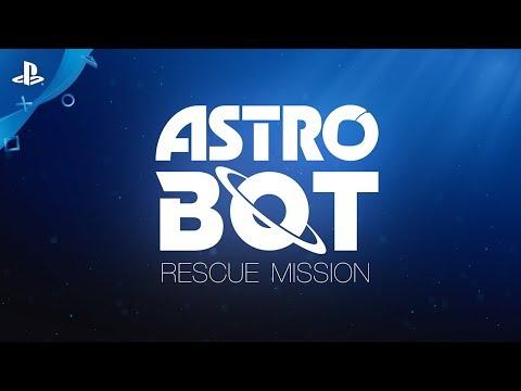 ASTRO BOT Rescue Mission - Announce Video | PS VR