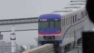 大阪モノレール3000系試運転 *2018年10月13日は試乗会
