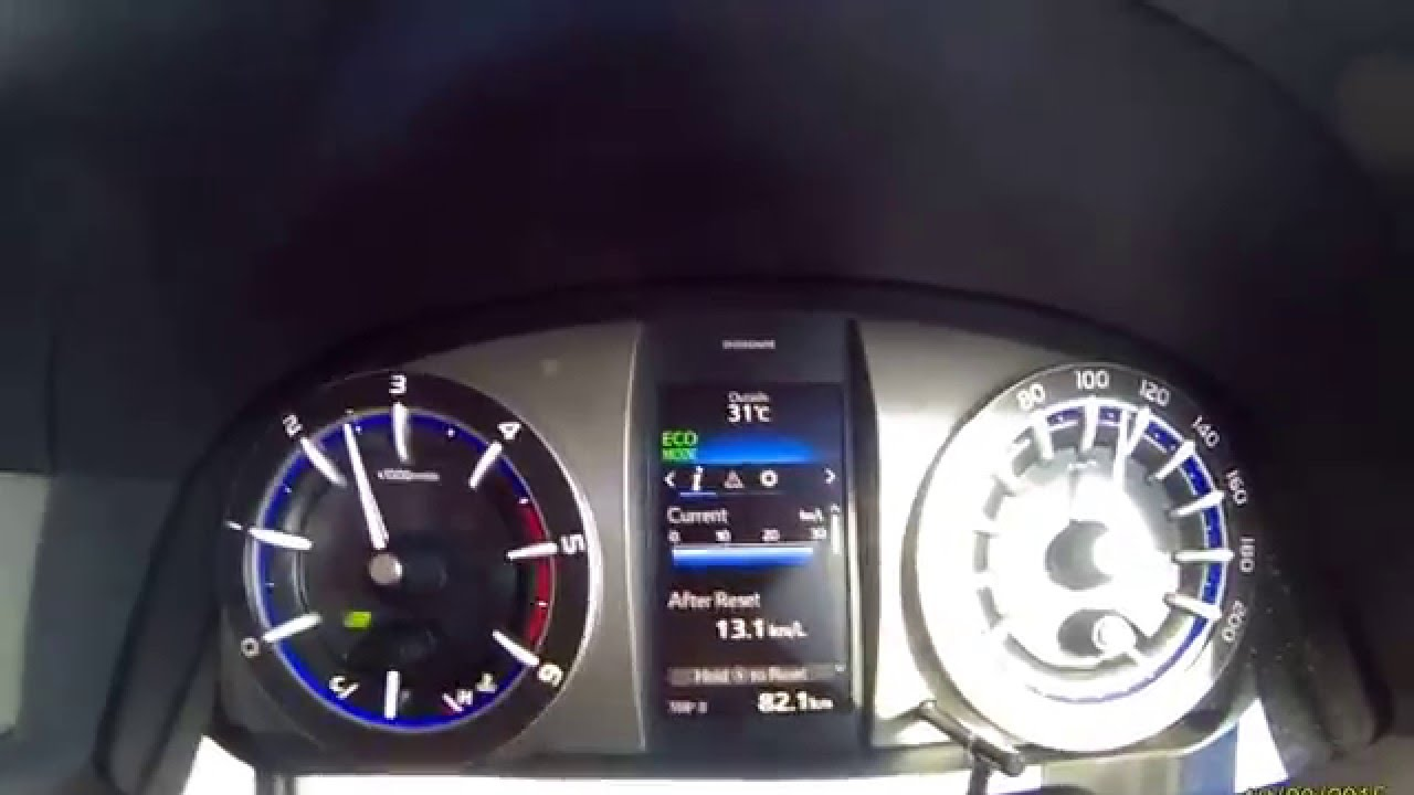 Konsumsi Bbm All New Kijang Innova Diesel Perbedaan Grand Avanza G Dengan Veloz Toyota 2 4 V Manual Kec 110 Km Jam Youtube