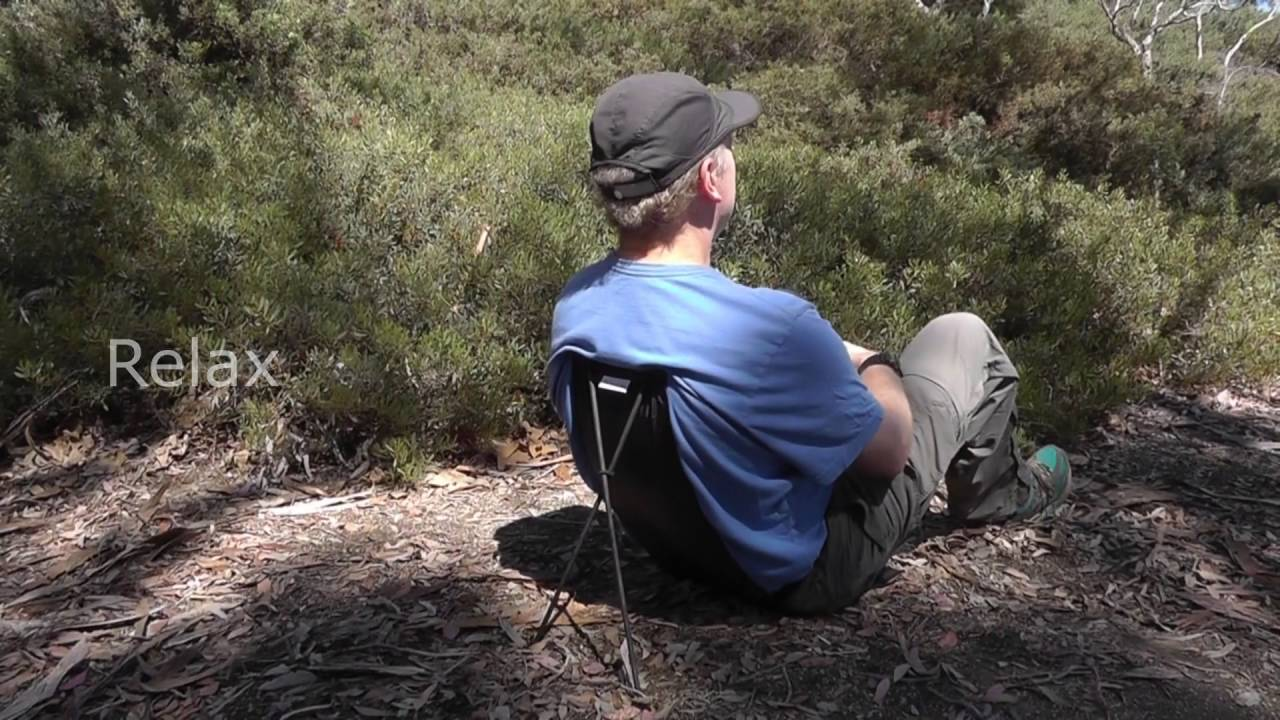 Backpacking chair ultralight - Qwikback Ultralight Chair
