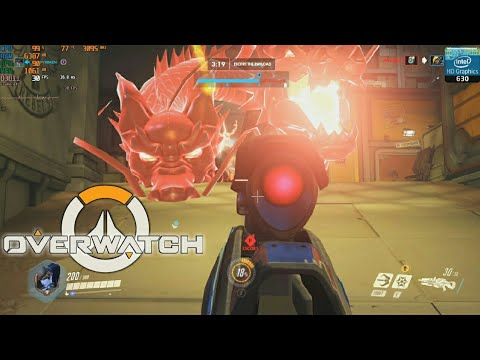 Overwatch on Intel HD Graphics 630 and Intel i5 7300HQ   Acer Nitro 5