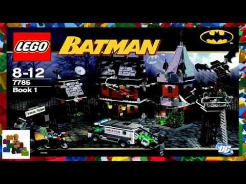 LEGO Instructions  - Batman ™ - Arkham Asylum™ - 7785 (Book 1)