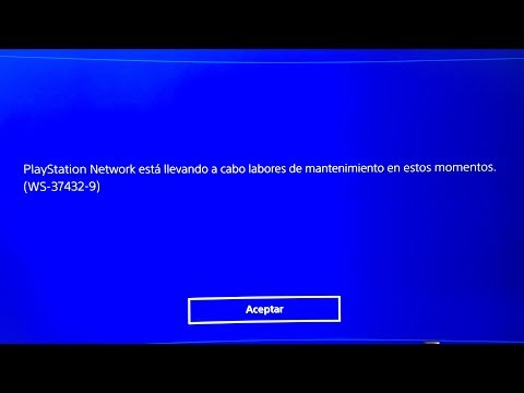 Problema Playstation Network Septiembre 2017
