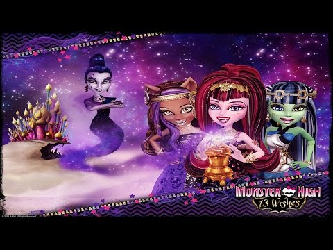Monster High 13 Wishes Walkthrough Complete Game