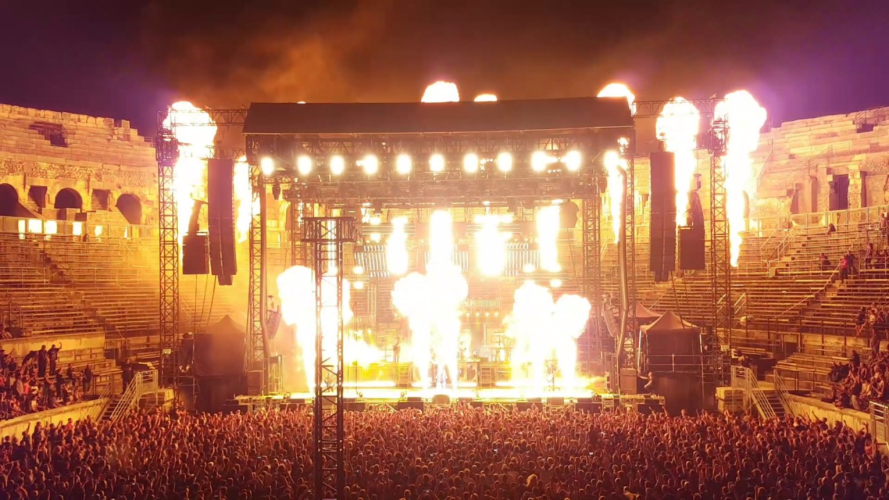 rammstein sonne live ar nes de n mes 13 07 2017 youtube. Black Bedroom Furniture Sets. Home Design Ideas