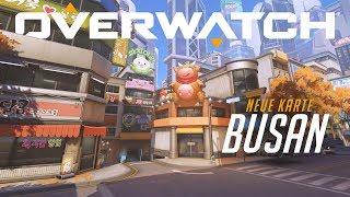 Vorschau: Busan | Neue Kontrollkarte | Overwatch (DE)