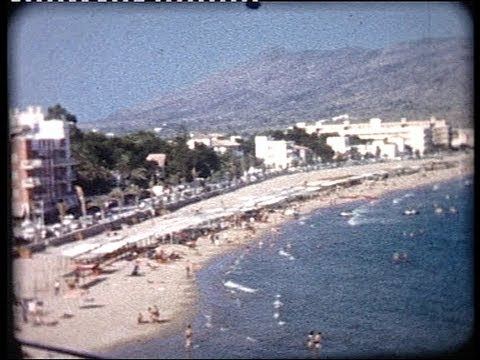Visiting BENIDORM, Spain,  fifty years ago in 1962