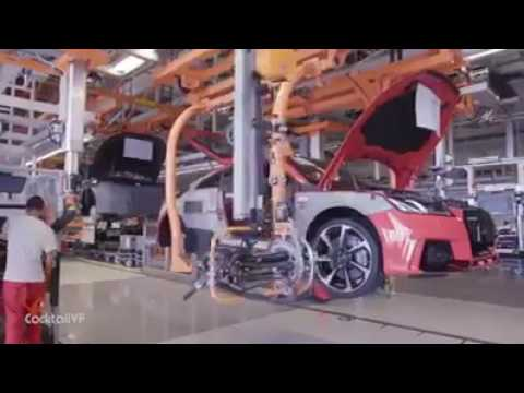 Audi TT RS Production 2017   Mechanical Engineering World
