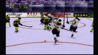 Classic Game Gems: NHL Face Off 98 Preview Movie