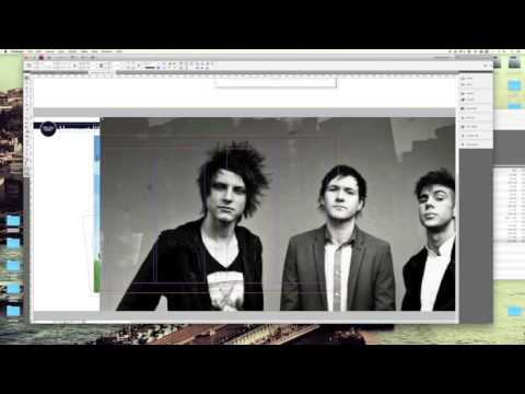 InDesign TUTORIAL - MAGAZINE DOUBLE PAGE SPREAD - MUSIC