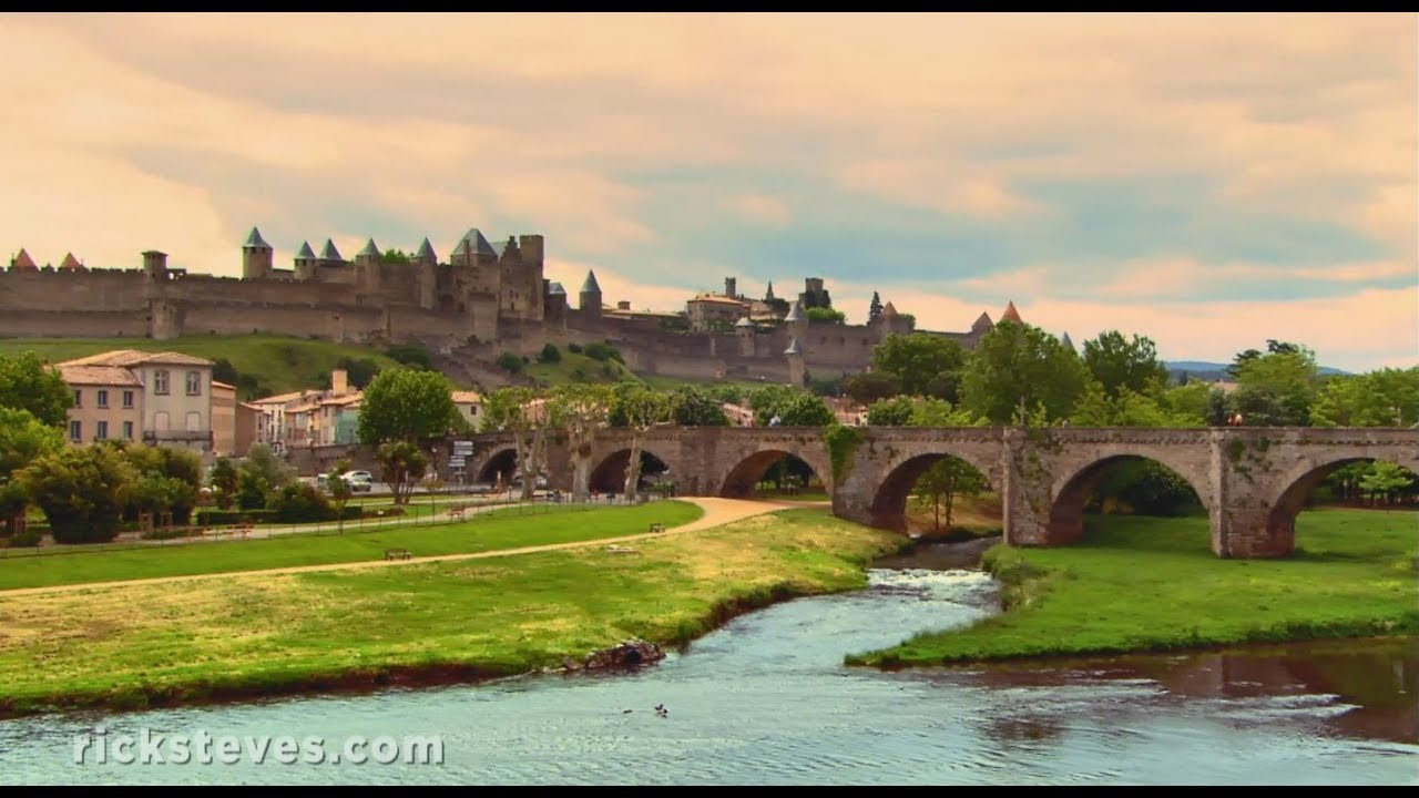 carcassonne france europe 39 s ultimate fortress city youtube. Black Bedroom Furniture Sets. Home Design Ideas