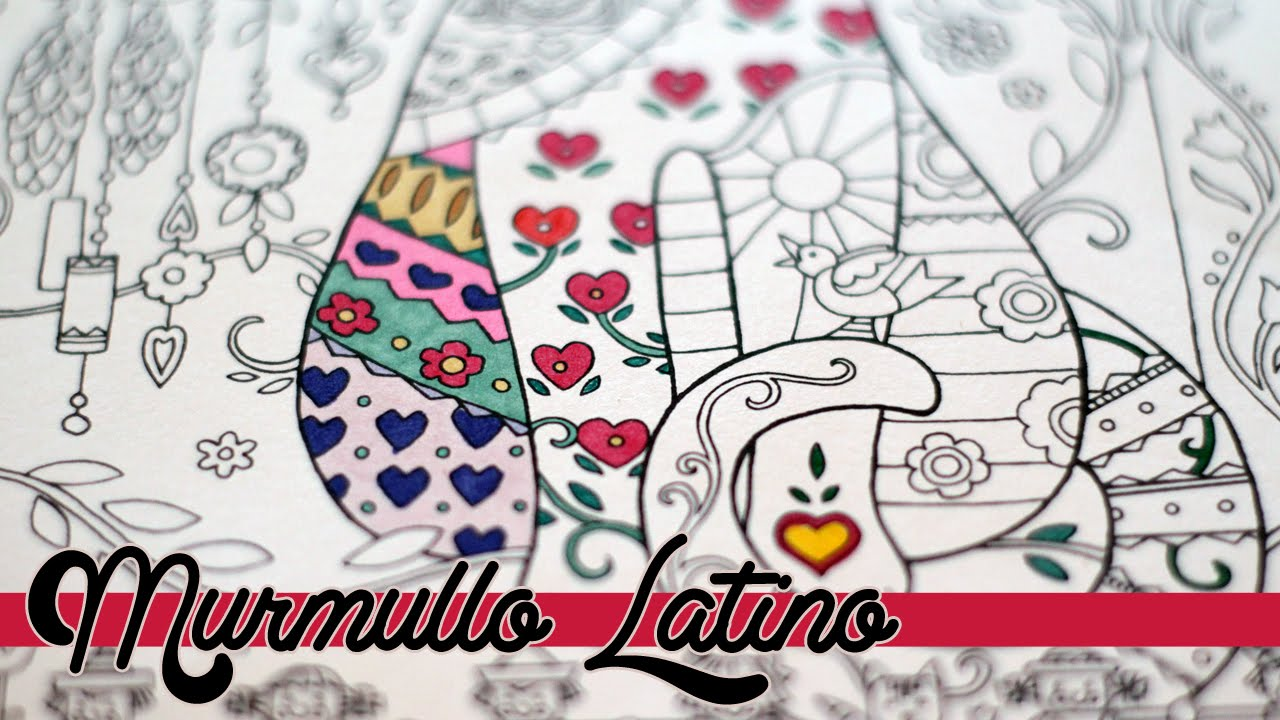 Coloreando Mandalas #1 | ASMR COLORING in Spanish - YouTube