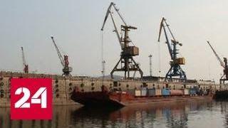 Обмеление Лены угрожает крупному транспортному узлу в Иркутской области