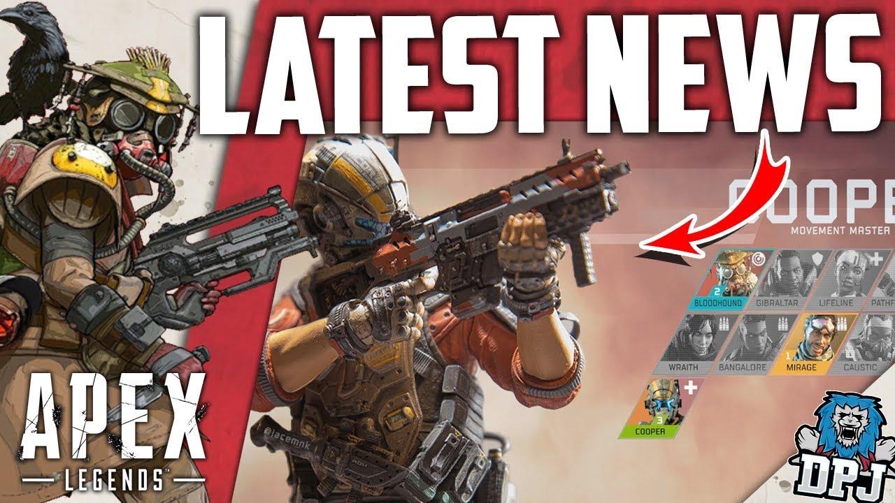 Apex Legends NEWS LEAK - New Weapons & Legendary Skins & More / New Legend  Release Date
