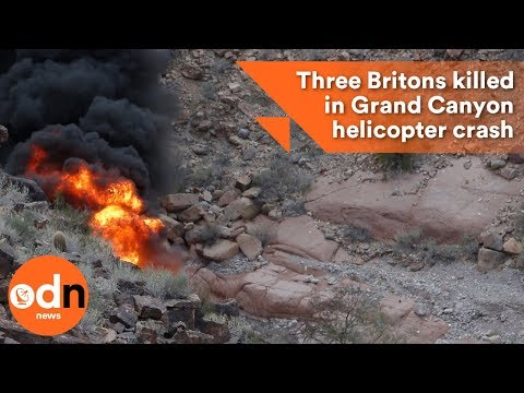 Three Britons killed in Grand Canyon helicopter crash