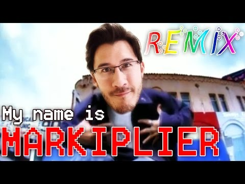 "My name is MARKIPLIER (""Eminem- My name is"" REMIX)"