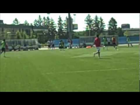 Nico Tramontana 2012 InfoSport Pro Soccer Combine participant