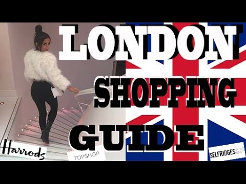 LONDON SHOPPING VLOG!