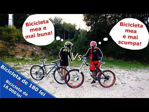 Bicicleta de 180 lei Vs. Bicicleta de 18.000 lei