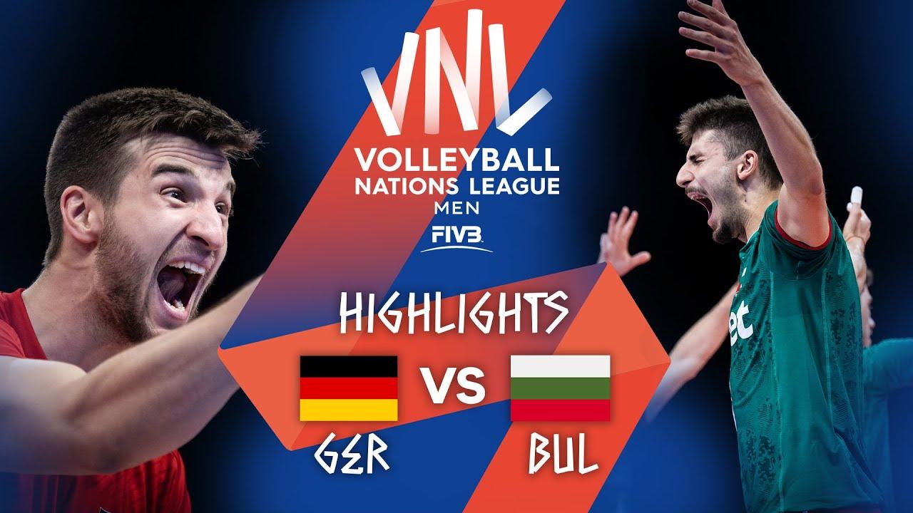 Download GER vs. BUL - Highlights Week 1   Men's VNL 2021