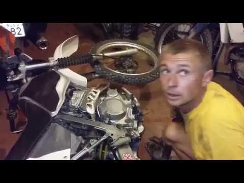 Проффесианальный ремонт кроссового мотоцикла