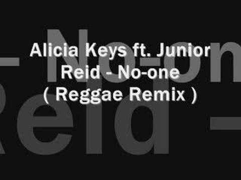 Alicia Keys Ft Junior Reid  Noone  reggae remix