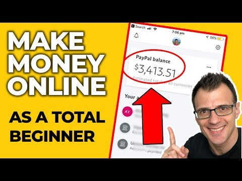 Best Way To Make Money Online as a Broke Beginner (2019 Method) thumbnail