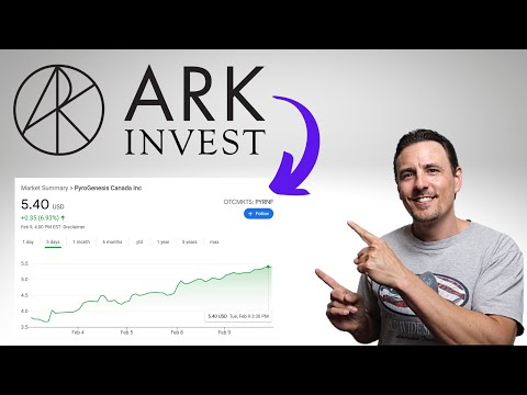NO ONE IS TALKING ABOUT THIS PENNY STOCK AND IT DOUBLED IN 30 DAYS! ARK INVEST IS BUYING THIS STOCK!
