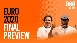IT'S COMING HOME | England vs Italy Euro 2020 Final Preview | A Tenner Says | 888sport