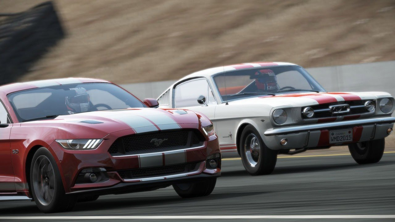 Project CARS Old Vs New Car Pack DLC Trailer - YouTube